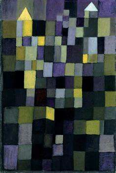 Swiss-German artist Paul Klee, who achieved world fame after the Great War, was employed as a camouflage painter of German aircraft. Klee's father managed to pull strings and wrangle the job for his son in order to keep him out of having to enlist in the army. He was required to paint the Lozenge pattern on aircraft. As you can see from the Klee 1922 painting below, it definitely had an influence on his artistic work.