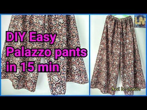 How To Sew Circular Shorts Divided Skirt Short Circular Palazzo