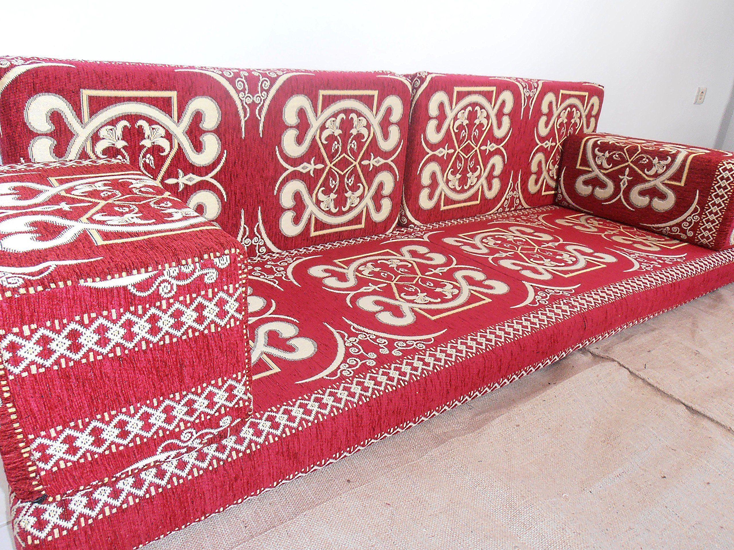 Furniture Oriental Seating Arabic Sofa Sofa Set Floor Couch Floor Cushions Arabic Jalsa Majlis Hookah Bar Decor Ma 5 Floor Couch Sofa Handmade Floor Cushions