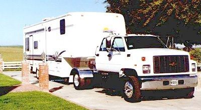 Jim Ellis Chevrolet >> Our 35' Alfa 5th wheel trailer and our Chevy Kodiak 6500 truck for hauling this heavy trailer ...