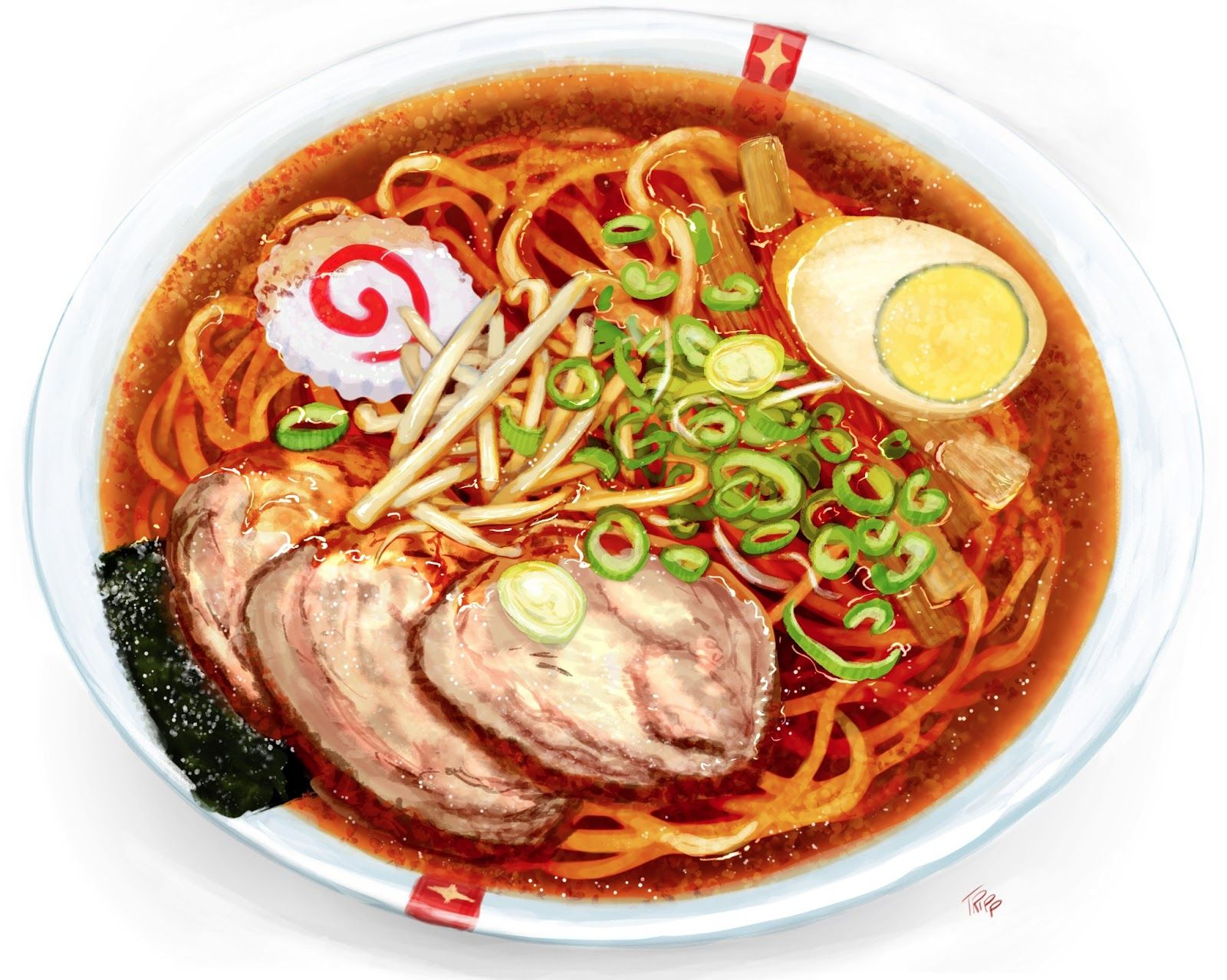 Tokyo Ramen Show Food inspiration, Watercolor food, Food