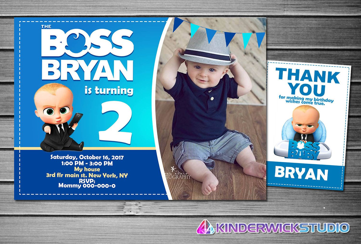Boss Baby Birthday Printable Party Pack Boss Baby Birthday Party