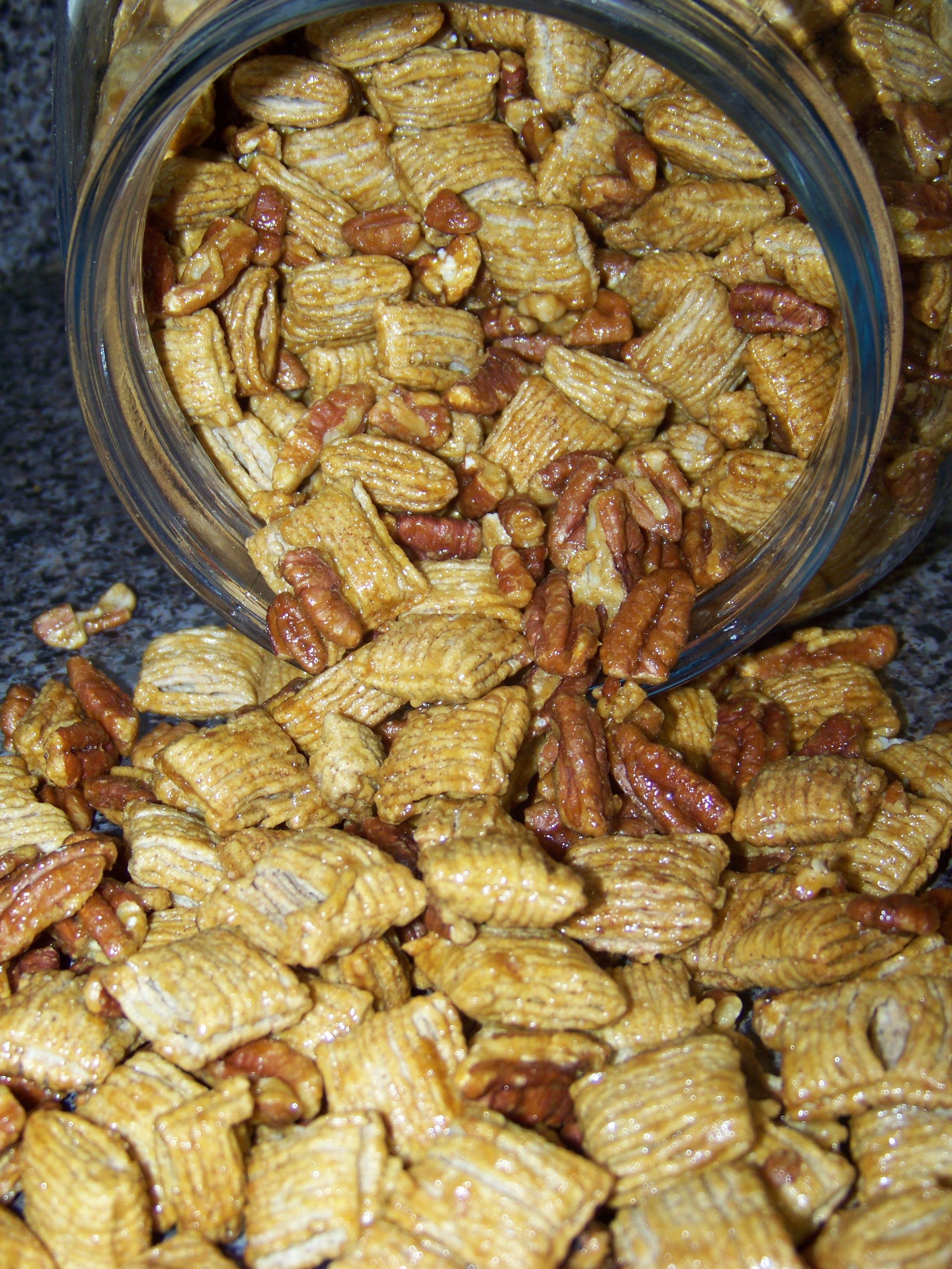 Pecan Crunch I love snack mixes, especially around the fall/winter holidays.  I am not sure why I don't make them more often, I guess because I know I'll eat them, and I usually give myself a pass d…Guess (disambiguation)  A guess is a conjecture or estimation. To