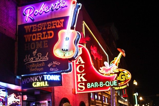 Night Life in Nashville, pick any bar hear Awesome music