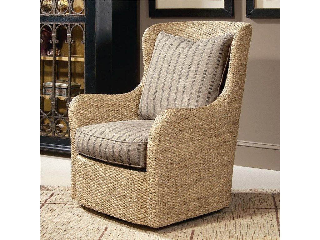 Elegance Water Hycantih Swivel Chair By Century In 2019