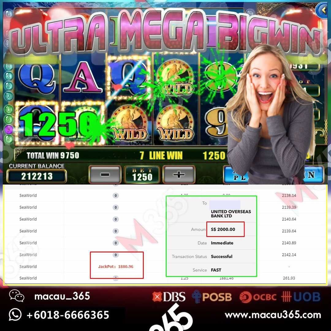 Online Casino Singapore Online Gambling Singapore Macau365 Online Gambling Online Casino Jackpot