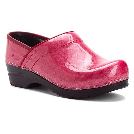 Sanita Pearl Professional | Women's Pink Pearlized Patent