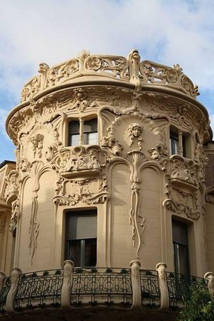 Palacio De Longoria Madrid Architecture Art Nouveau S