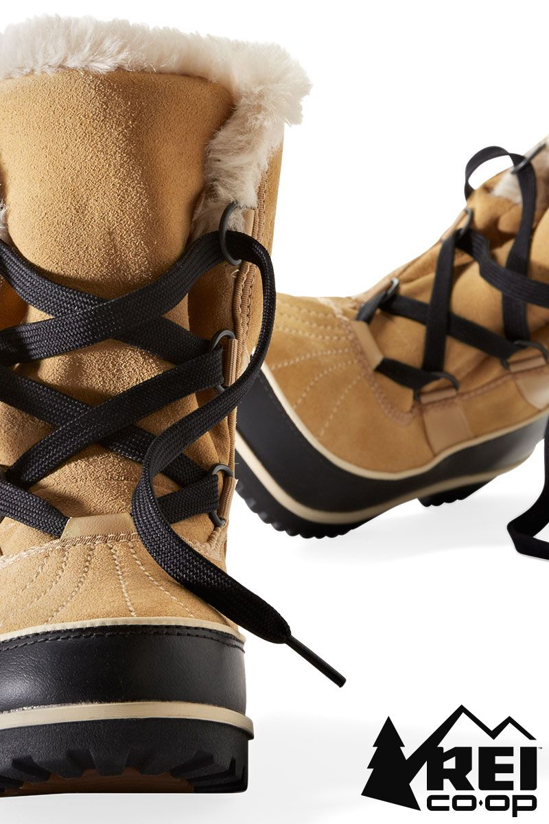 Sorel Tivoli II Suede Snow Boots