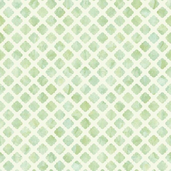 Artisan Tile Wallpaper In Aqua And White Design By Carey Lind For York...  (2.790 RUB) ❤ Liked On Polyvore Featuring Home, Home Decor, Wallpaper, ...