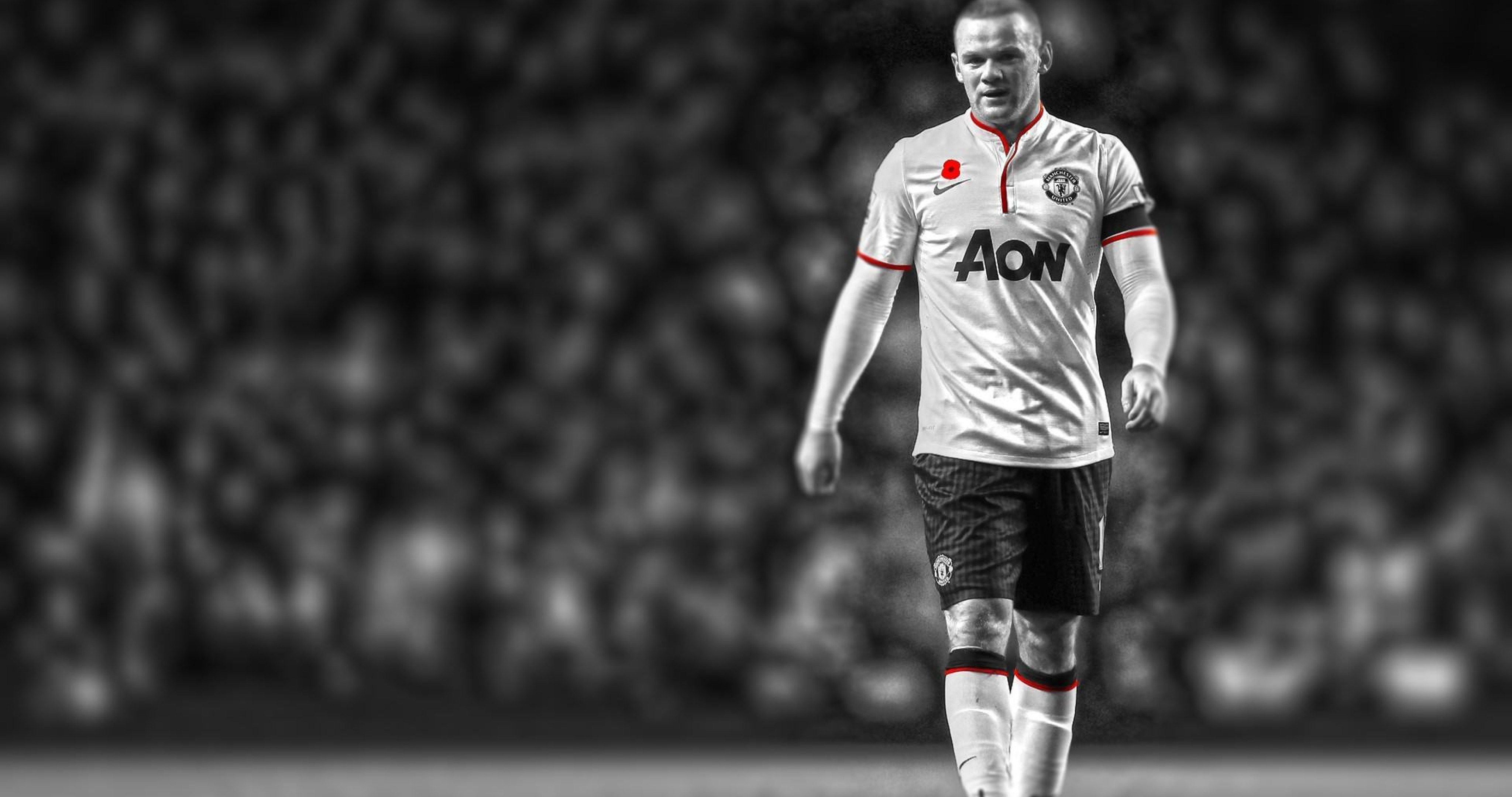 Football Manchester United Rooney 4k Ultra Hd Wallpaper Wayne Rooney Manchester United Rooney Manchester United