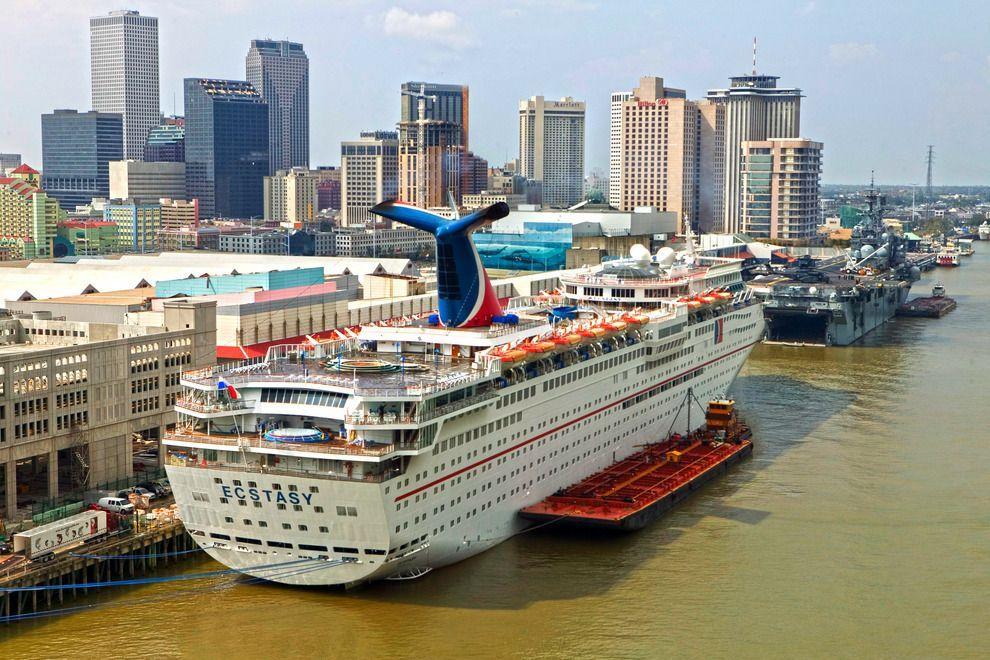 New Orleans Cruise Port New Orleans LA Pinterest Cruises - Cruise port new orleans