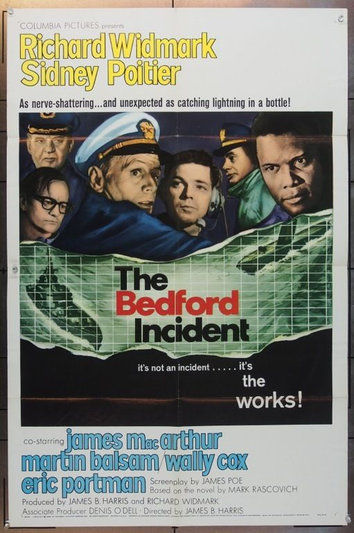 Bedford Incident The 1965 11281 The Bedford Movie Posters Old Movie Posters