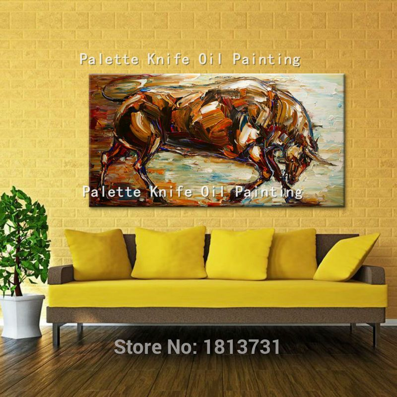 Oil painting On Canvas Wall Pictures Paintings For Living Room Wall ...