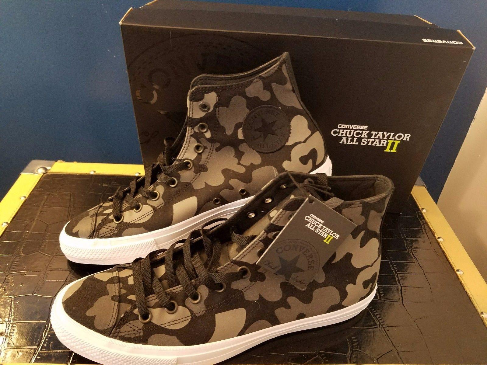 c507a32a1dfb Unisex Adult Shoes 155196  Converse Chuck Taylor Hi Top All Star Ii  Reflective Camo Men