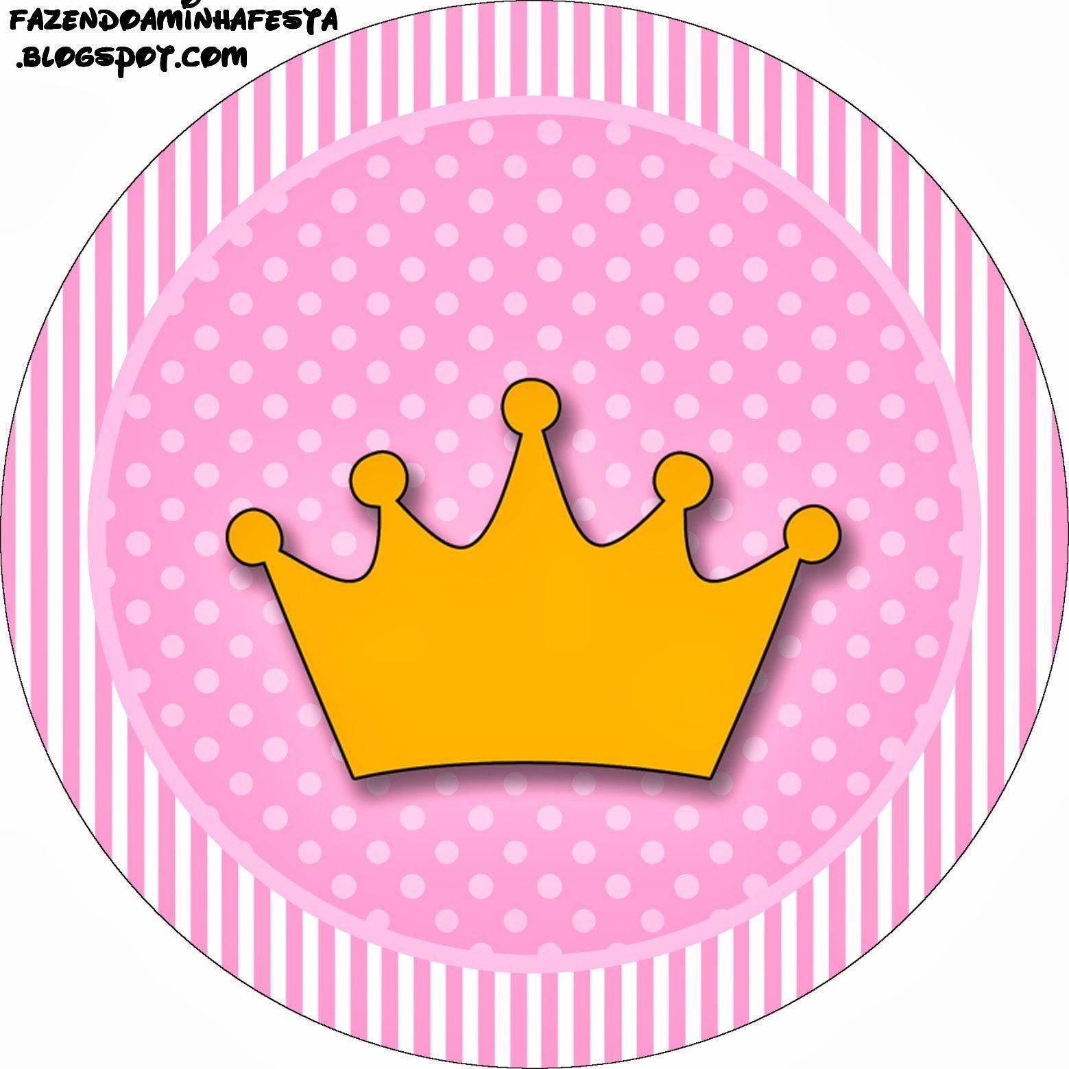 coroa princesa kit completo com molduras para convites princess crown clipart outline clip art princess crown blue