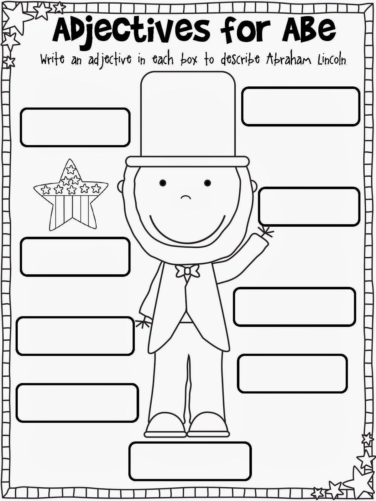 hight resolution of First Grade February Printables   Kindergarten worksheets