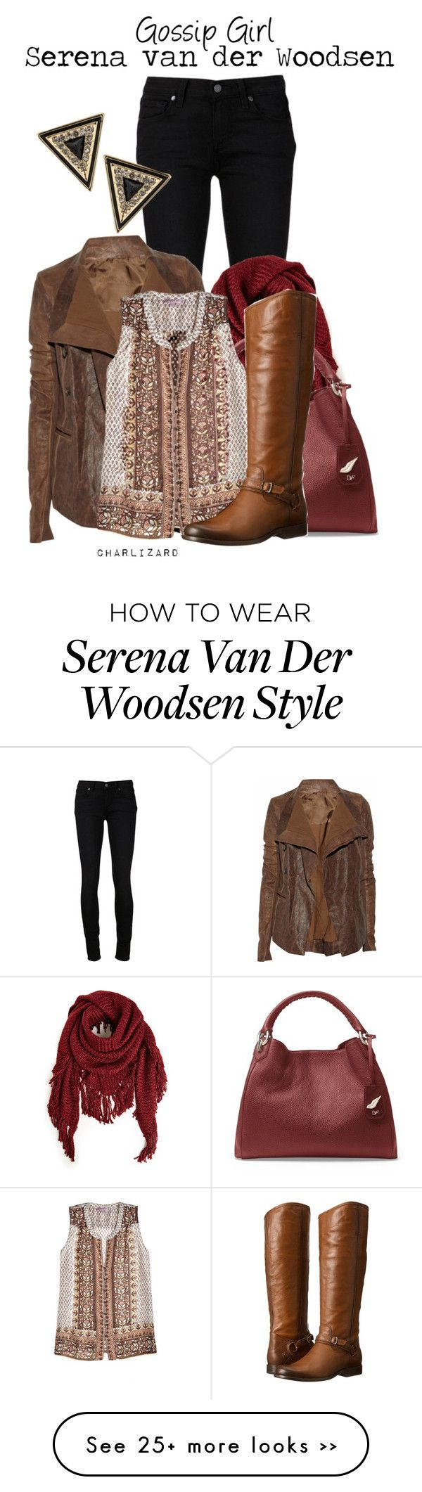 """Serena van der Woodsen"" by charlizard on Polyvore"