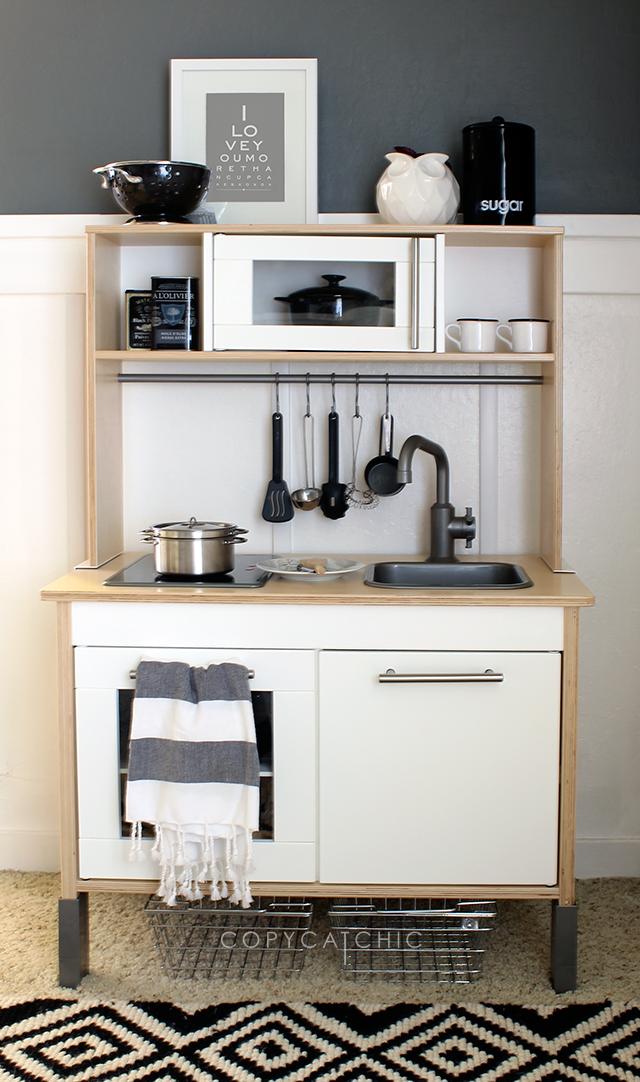 Roundup: 10 Creative IKEA Play Kitchen Makeovers   Kinderküche ...