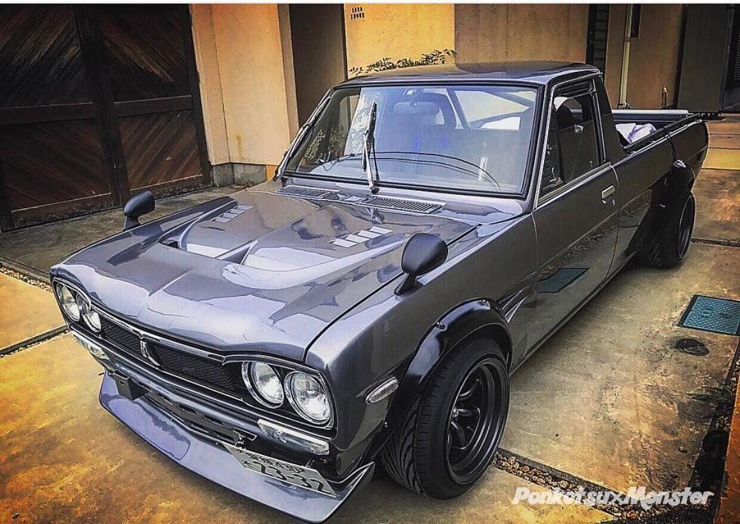 Datsun 1200 Pickup | Four Wheels | Nissan trucks, Mini trucks, Jdm cars