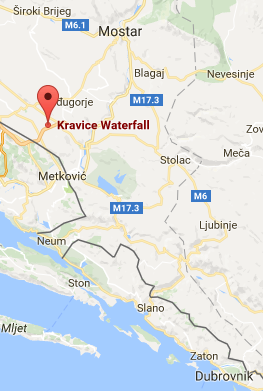 Kravice Map Map View Map Adventure