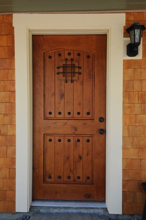 wooden speakeasy door trim cedar shingles door doorswooden