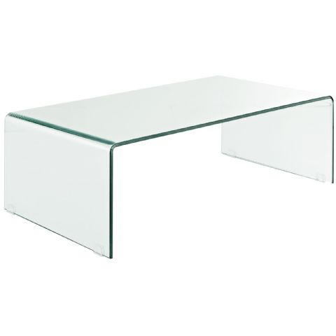 Glass Coffee Table Tempered Glass Coffee Table 43 5 L X 23 5 W X