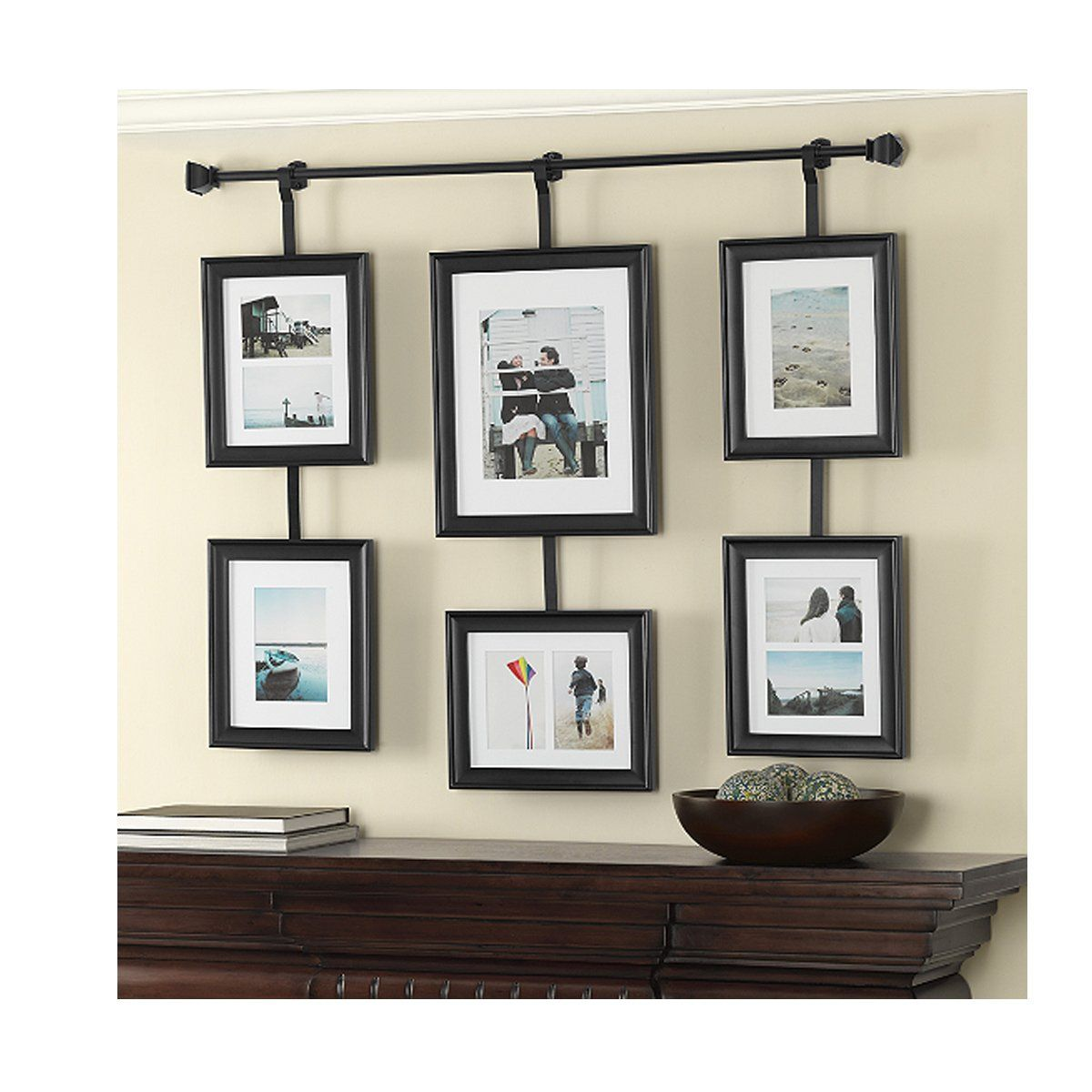 Wall Solutions Rod and Frame Set Frames on wall, Home