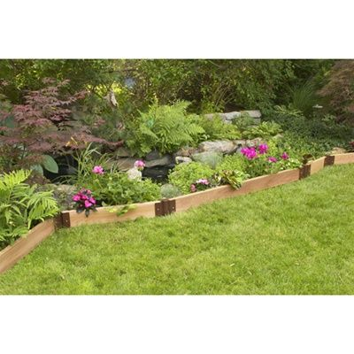 Recycled Garden Edging 109 For 16 Foot Section Love For 640 x 480