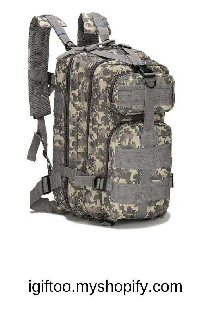 Military Tactical Backpack Hiking Trekking Camping Travel Bag Rucksacks 20-35L