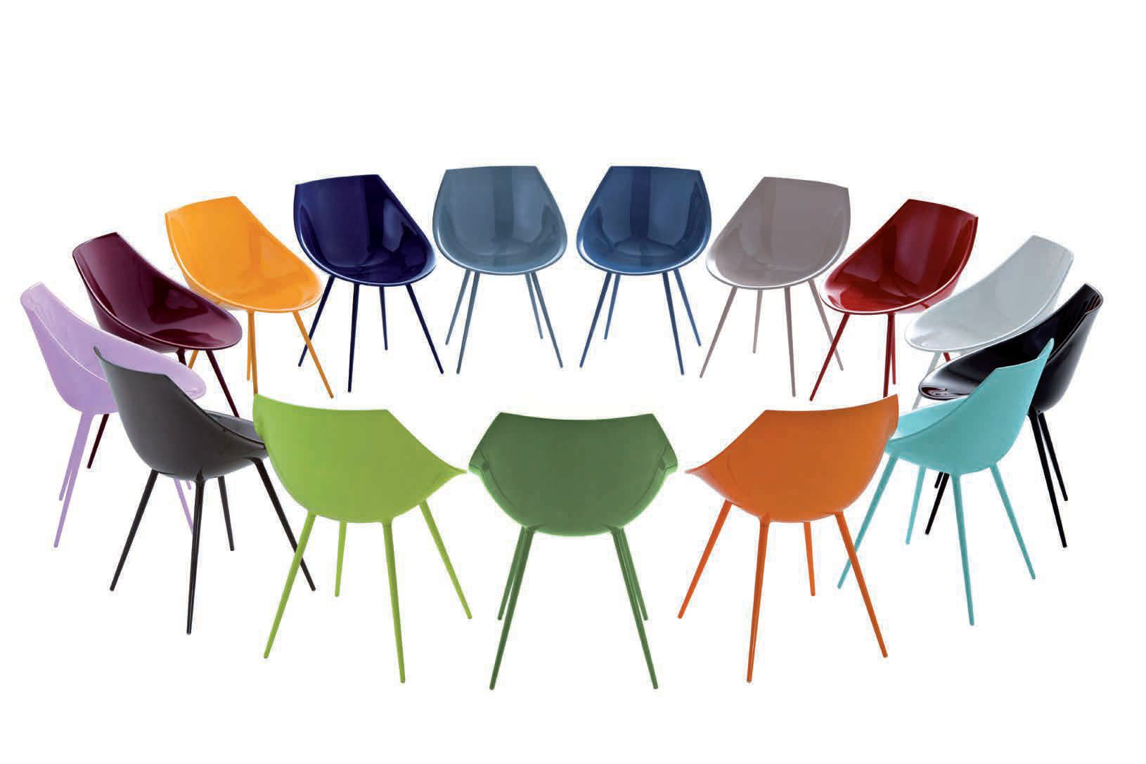 Sedie Driade ~ Lagó dining chairs by philippe starck for driade furniture
