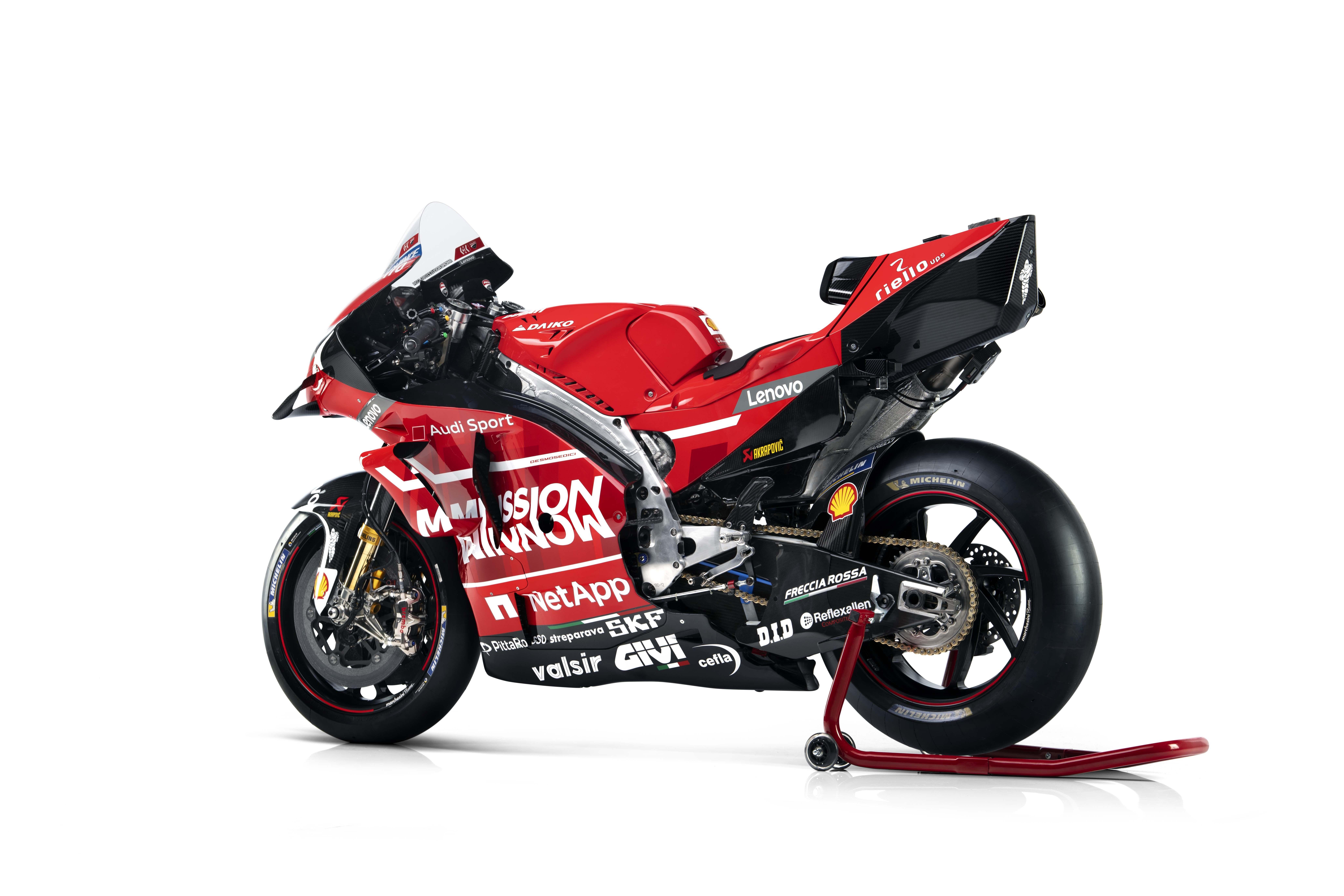 Ducati Desmosedici Gp19 Motogp Race Bike Debuts Motogp Racing