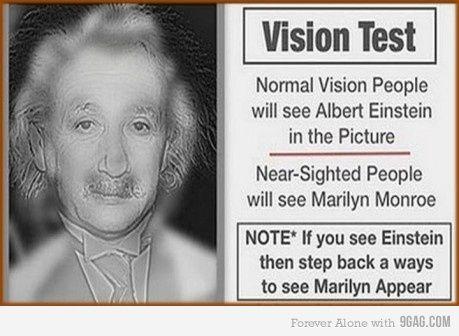 teszt myopia einstein