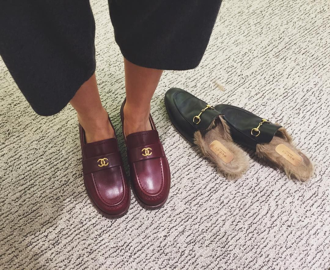 """Loafers lover ❤️ while I was trying my new fav acquisition"""