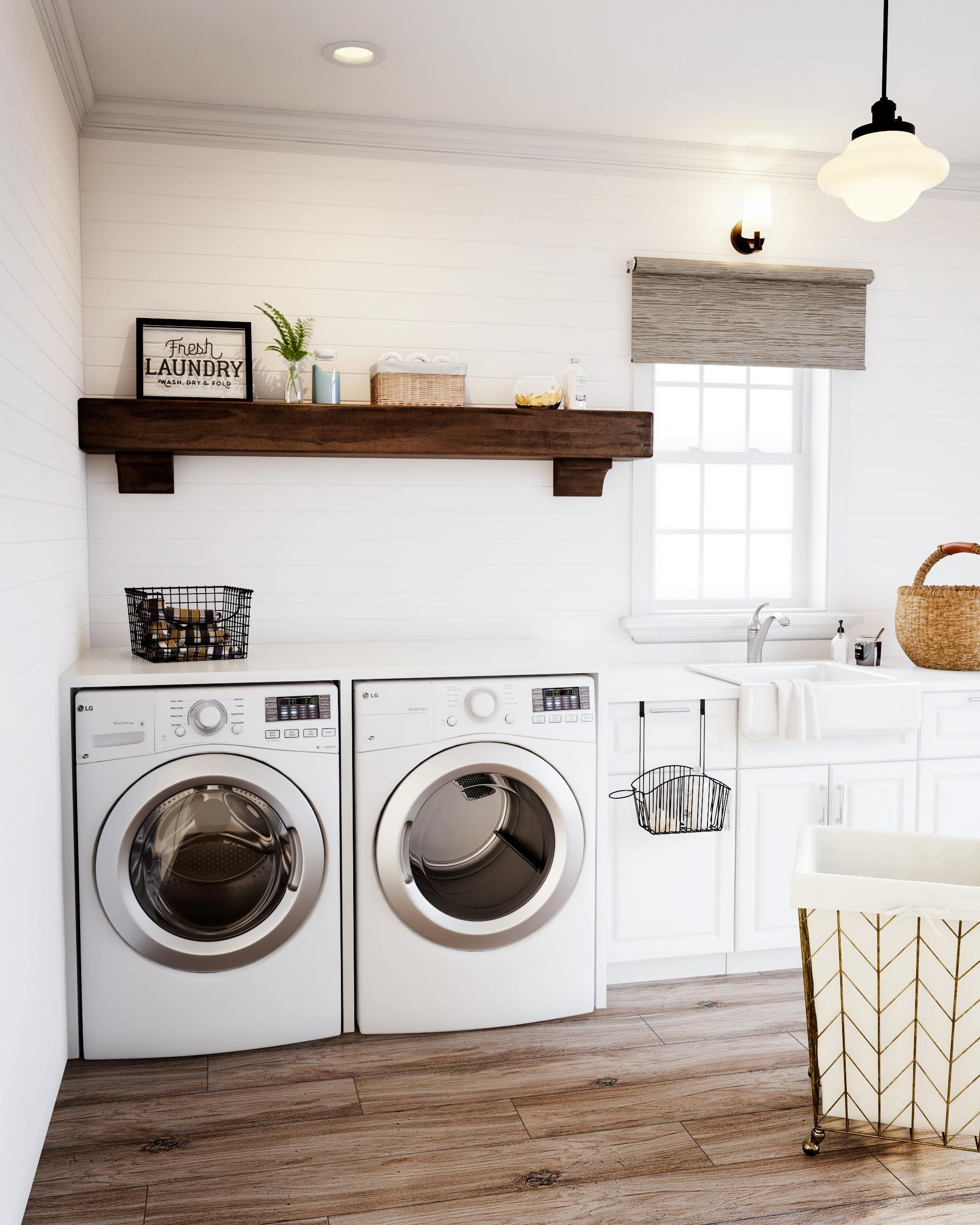 17 laundry room cabinet ideas to maximize your home space on extraordinary small laundry room design and decorating ideas modest laundry space id=65705