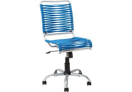 Best Bungee Twist Blue Desk Chair 99 00 17 75W X 23 5D X 35 400 x 300