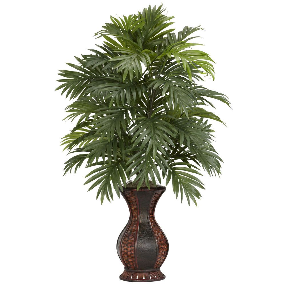 Areca Palm Silk Plants Nearly Natural Indoor Artificial