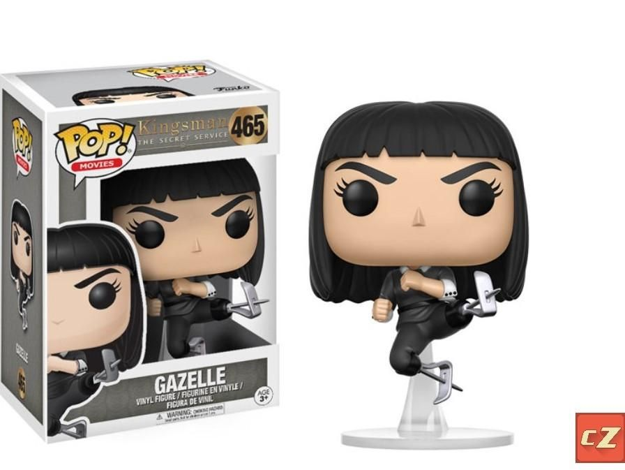 Funko Pop Vinyl Figur #465 Kingsman Gazelle MINT