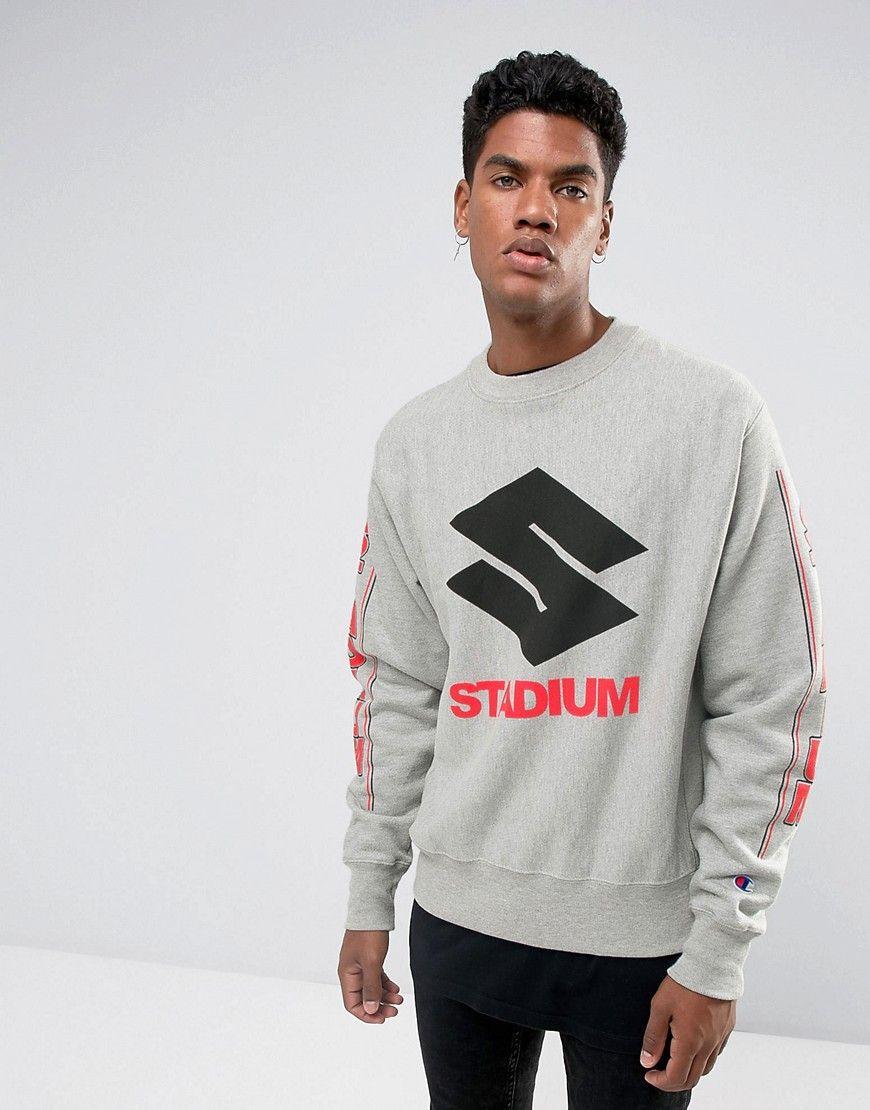 5ef40f133ee298 Justin Bieber Stadium Tour Champion Sweatshirt In Gray - Gray ...