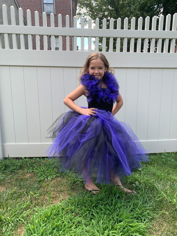 Mal Inspired Tutu Dress Purple And Black Disney Descendant Inspired Evil Queen Halloween Costu Evil Queen Halloween Costume Queen Halloween Costumes Tutu Dress [ 3000 x 2250 Pixel ]