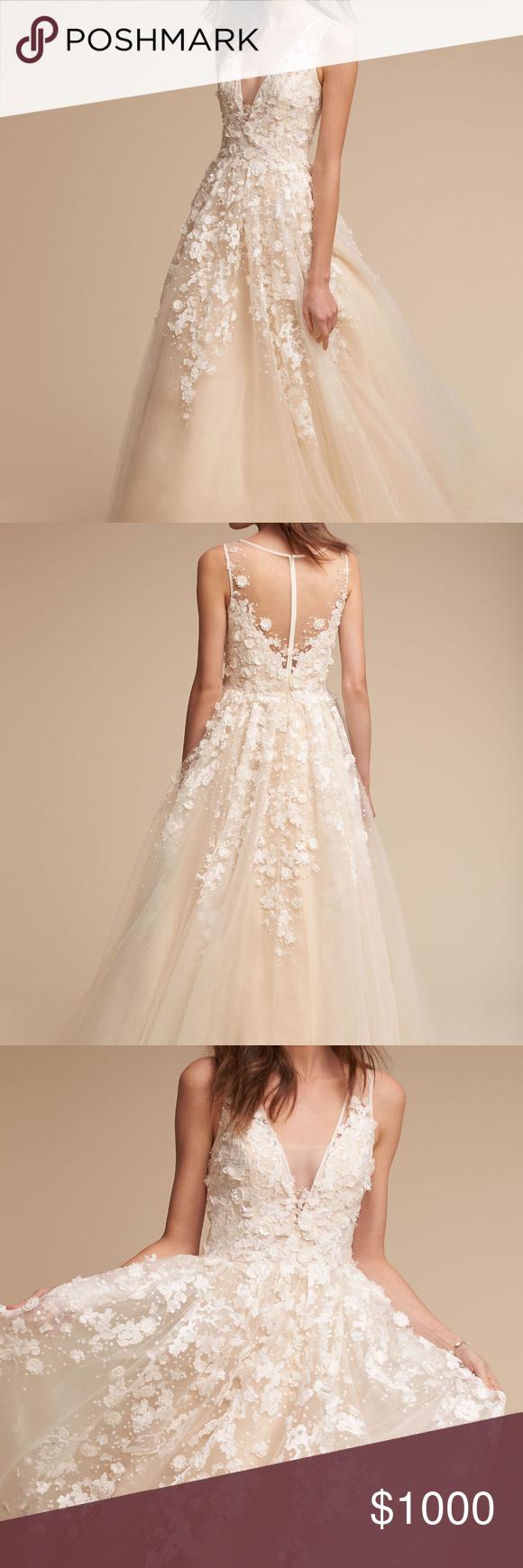 Wedding dress cups  BHLDN Ariane Gown  My Posh Picks  Pinterest  Fashion tips