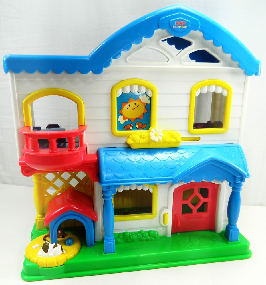 Small Crop Of Fisher Price Little People House