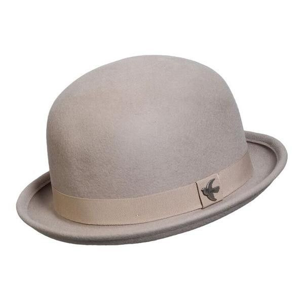 1af218bdf94 Conner Handmade Hats Classic bowler style with a twist-contemporary colors!  Lilac