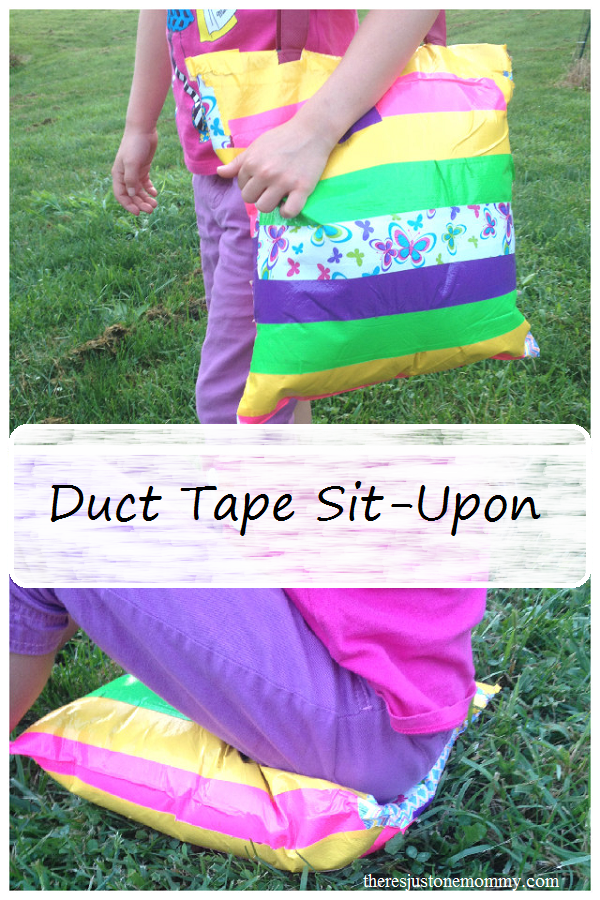 Duct Tape Sit Upon Craft Activities For Kids Pinterest