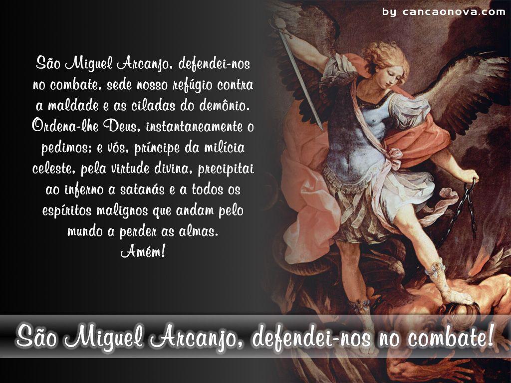 Petalas Soltas Oracao De Sao Miguel Oracao De Sao Miguel