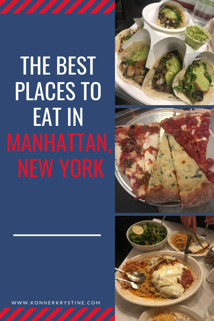 The Best Places To Eat In Manhattan New York New York City Food
