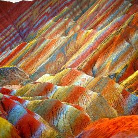 Parque Geológico Nacional Zhangye Danxia- China