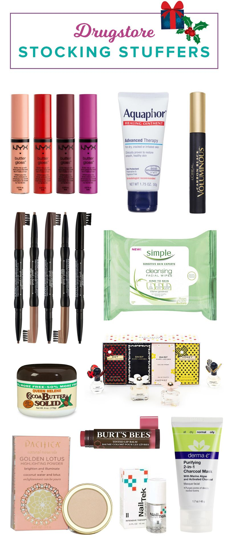22 Drugstore Beauty Products That 39 Ll Make Great Stocking