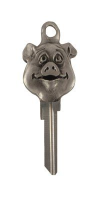 I MUST have one or ten!!! KEY ART Pig key blanks