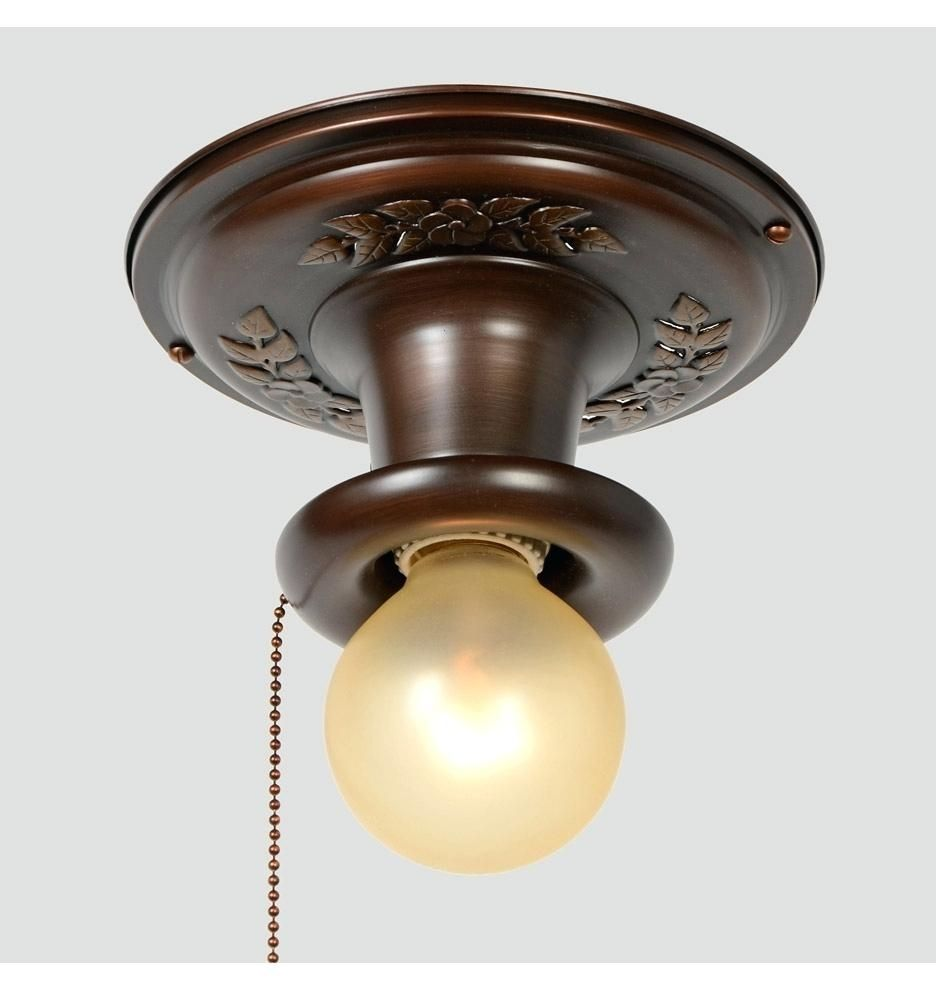 Pull Chain Ceiling Light Switch Pull Chain Light Fixture Flush Mount Ceiling Light Fixtures Ceiling Lights